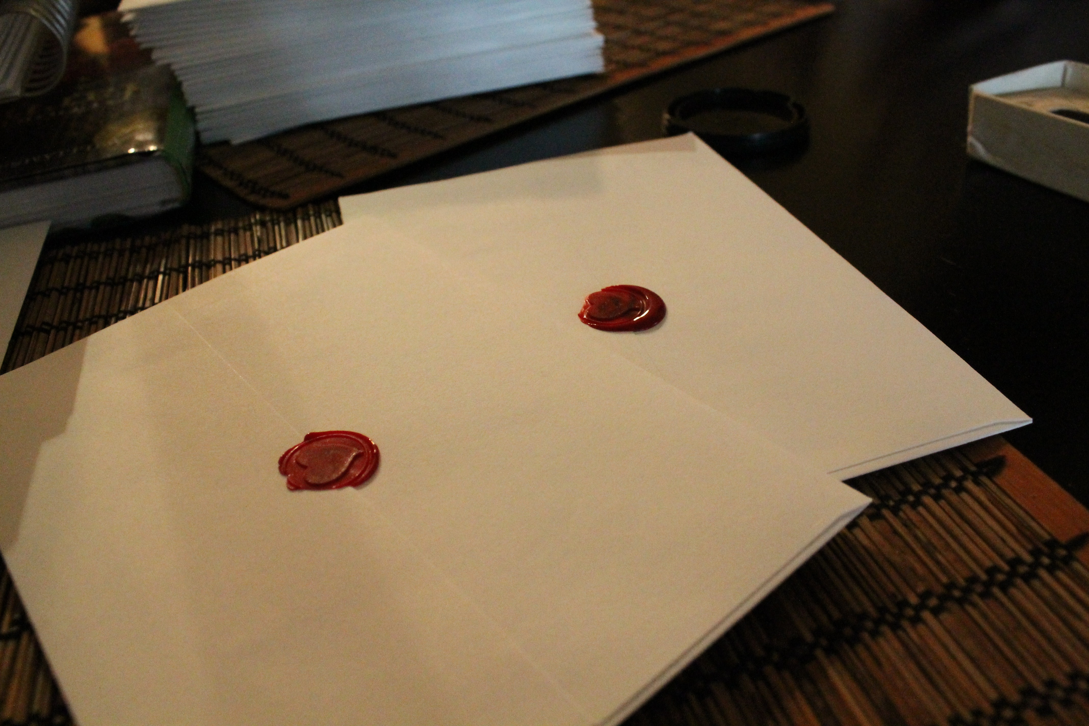 letters to your boyfriend wedding invites wax seal she in own way 1474